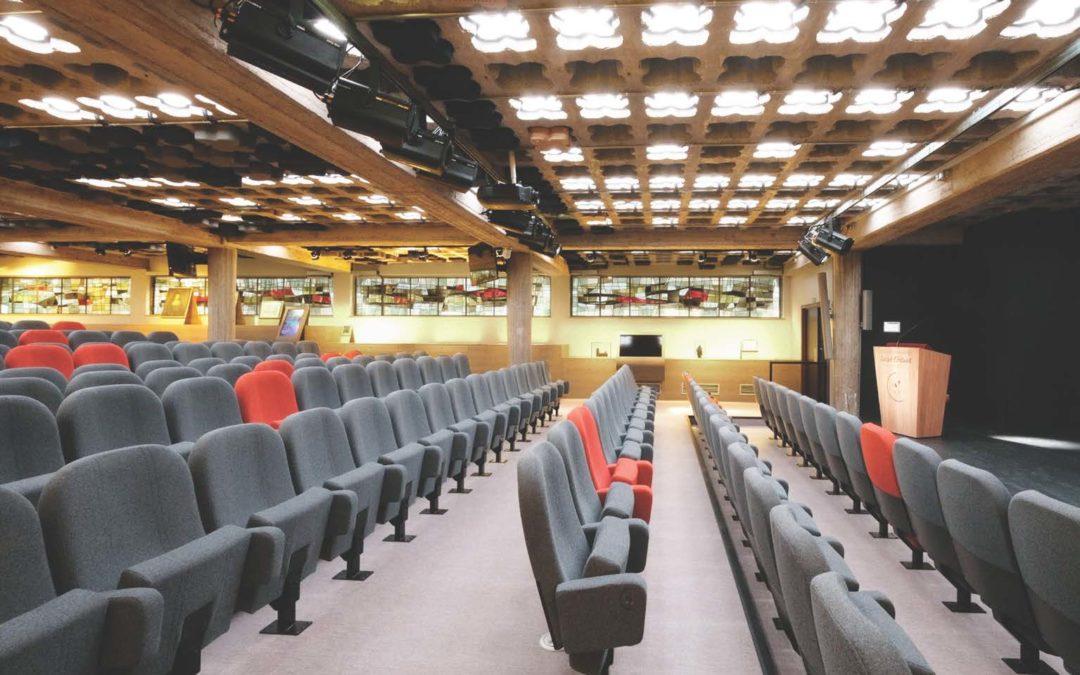 Auditorium – crypte – STRASBOURG